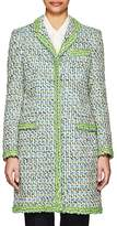 Thom Browne WOMEN'S CHESTERFIELD COTTON-BLEND TWEED COAT