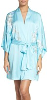 Natori Women's Orchid Embroidered Wrap