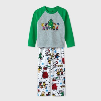 Peanuts Boys' 2pc Fleece Pajama Set -