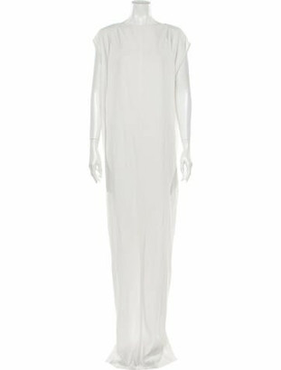 Rick Owens 2017 Long Dress White