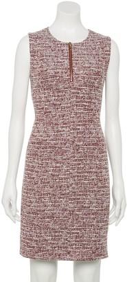 Apt. 9 Petite Sleeveless Zip-Front Sheath Dress