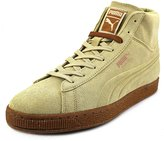 Puma Suede Embossed Mixed Rubber Mid Men US 9 Tan Sneakers