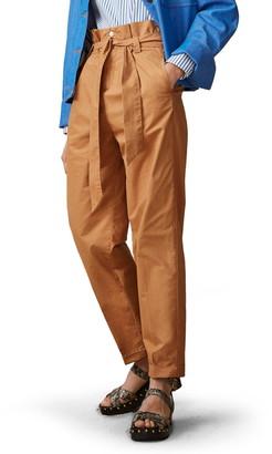 Scotch & Soda High Waist Belted Paperbag Pants