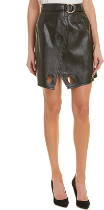 Self-Portrait Wrap Skirt