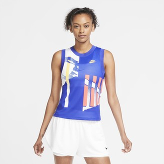 Nike Women's Tennis Tank NikeCourt Slam