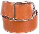 Hermes Barenia Leather Belt
