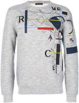 Versace László print sweatshirt