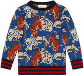 Gucci Children's sweatshirt with Bengal print