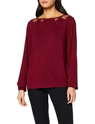S'Oliver Women's 14.912.31.6941 Long Sleeve Top,16 (Size: )