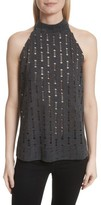 Twenty Women's Perforated Halter Top