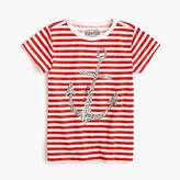 J.Crew Girls' sparkly anchor T-shirt