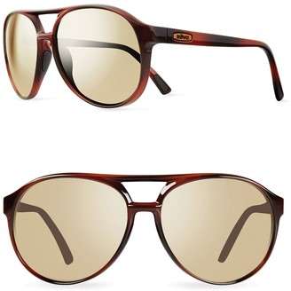 Revo Marx 59mm Aviator Sunglasses