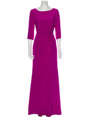 Oscar de la Renta 2016 Long Dress w/ Tags Purple