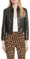 Frame Women's Studded Leather Jacket