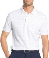 Izod Short Sleeve Grid Polo Shirt
