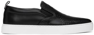 Gucci Black Signature Dublin Sneakers