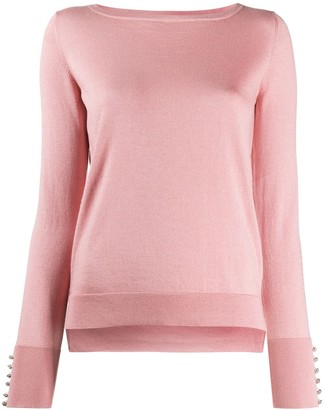Snobby Sheep Swarovski-embellished pullover