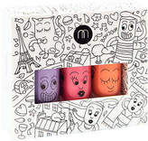 NEW City non-toxic wash-off nail polish for kids (set of 3) by Nailmatic Kids