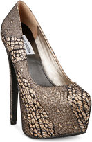 Steve Madden Women's Shoes, Dejavu Platform Pumps