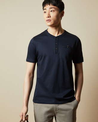 Ted Baker SIRMA Cotton Henley T-shirt