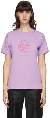 Marc Jacobs Purple Heaven by Crazy Daisy T-Shirt
