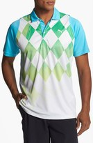 Puma 'Duo-Swing' dryCELL Tech Polo Blue Atoll Large