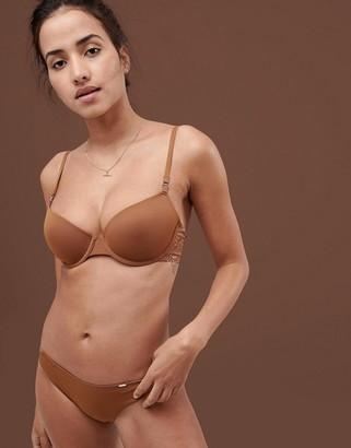 Dorina Tone On Tone Isabelle Nude T-Shirt Bra In Medium-Beige