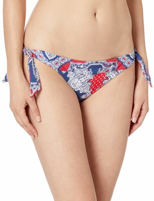 Seafolly Women's Tie Side Hipster Bikini Bottom Swimsuit