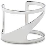 Vince Camuto Silvertone Asymmetric Cutout Cuff