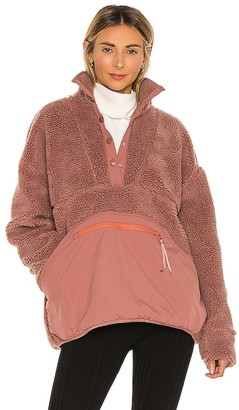 LPA Snap Front Pullover