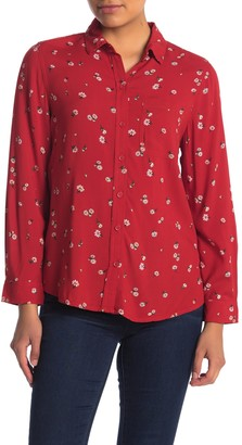 BeachLunchLounge Alanna Button Front Shirt (Regular & Petite)