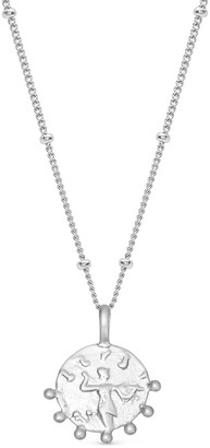 Missoma Silver Lucy Williams Mini Beaded Coin Necklace