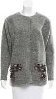 By Malene Birger Embellished Wool-Blend Jacket