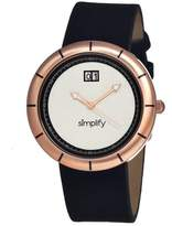Simplify Men's SIM1304 The 1300 White Watch