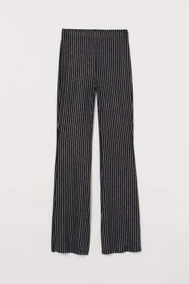 H&M Flared Jersey Pants
