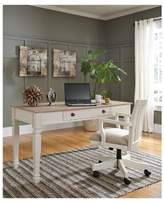 Signature Design by Ashley Sarvanny Home Office Desk Chair - Cream