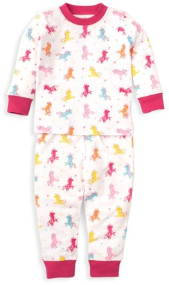 Kissy Kissy Baby's & Little Girl's Unique Unicorn 2-Piece Pajama Set
