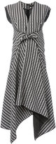 Proenza Schouler trapeze hem midi dress - women - Silk/Viscose - 6