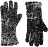 Cejon Black & Ivory Paisley Velvet Glove