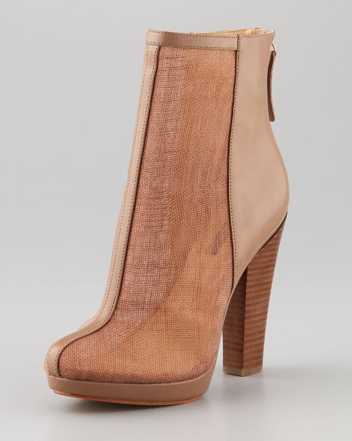Rachel Zoe Maddy Raffia Ankle Bootie