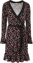 MICHAEL Michael Kors Floral Printed Wrap Dress