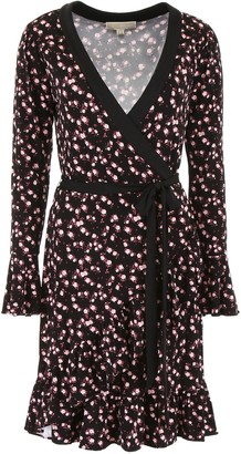 MICHAEL Michael Kors Floral Printed Wrap Dress