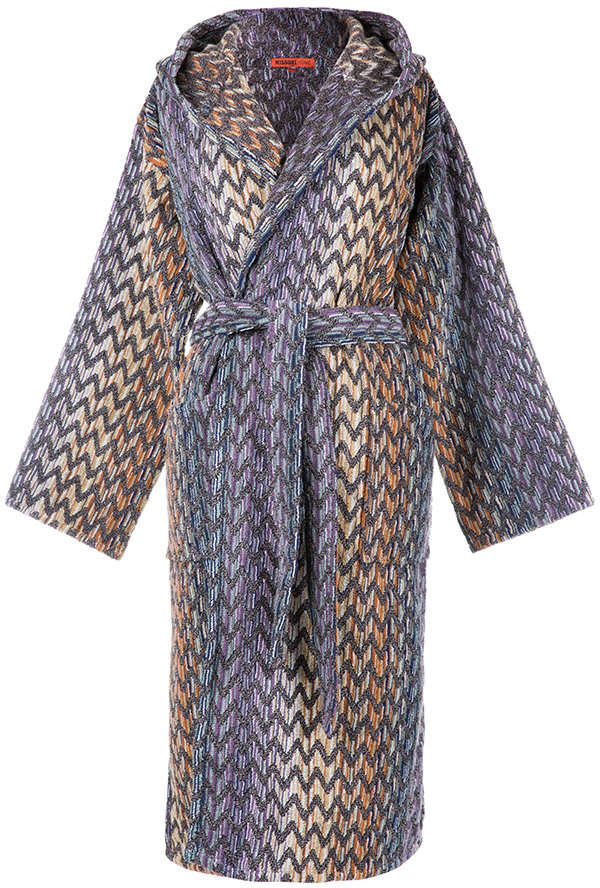 Missoni Home Stephen Hooded Bathrobe