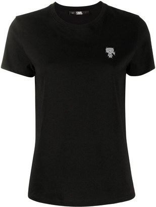 Karl Lagerfeld Paris Mini Ikonik Patch t-shirt