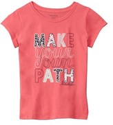 Nautica Girls' Make Your Path T-shirt.