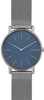 Skagen Signatur Men's Grey Titanium Mesh Bracelet Watch
