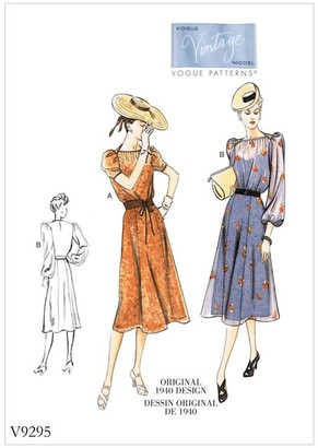 Vogue Women's Dress Sewing Pattern, 9295