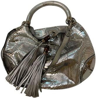 Gucci Hobo Metallic Python Handbags