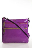 Cole Haan Purple Patent Leather Crossbody Handbag