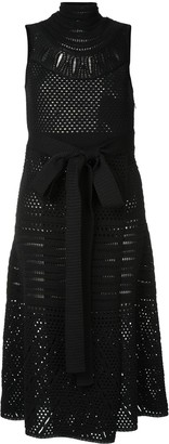 Proenza Schouler Crochet Sleeveless crew neck Dress